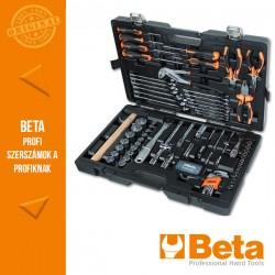 Beta 2047E/C108 108 darabos szerszámkészlet műanyag táskában,általános karbantartáshoz