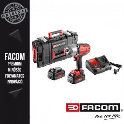 """FACOM 18V-os 1/2"""" Nagy nyomatékú akkus ütvecsavarozó kofferben (2x 5,0Ah akkuval és töltővel)"""