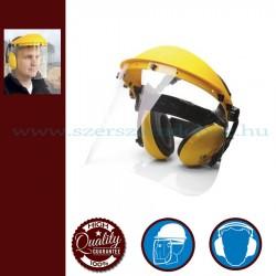 Portwest PW90 Arc és hallásvédő szett - sárga