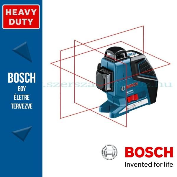 Bosch GLL 3-80 P Professional vonallézer