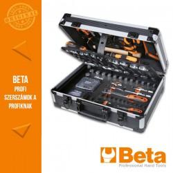 Beta 2056E 12 163 darabos szerszámkészlet táskában általános karbantartáshoz
