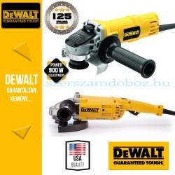 DeWalt DWE492TWIN-QS Sarokcsiszoló szett