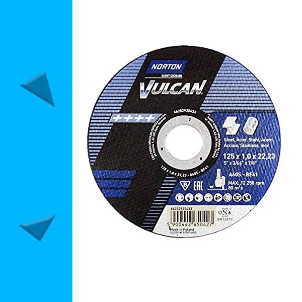 Norton Vulcan Professional Vágótárcsa 125x1mm metal-inox