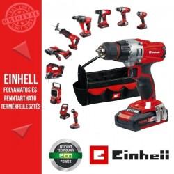 Einhell TE-CD 18/2 LI Akkus fúró-csavarozó szerszámtaroló táskával+válassz hozzá gépet Extra áron