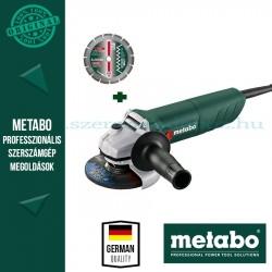 Metabo W 750-125 Sarokcsiszoló gyémánttárcsával