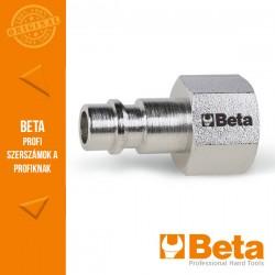 """Beta 1916GFE Gyorscsatlakozó, európai modell külső GAS menet, hengeres, BSPT 1/4"""""""