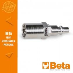 Beta 1916P Gyorscsatlakozó, olasz modell gumitömlőhöz való hüvellyel, 10x19 mm