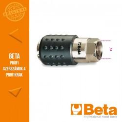 """Beta 1917F Univerzális golyórögzítésű gyorscsatlakozó hüvely, belső GAS menet, hengeres, BSP 1/4"""""""