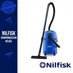Nilfisk BUDDY II 18 T Könnyű és kompakt, nedves és száraz porszívó