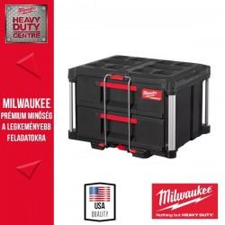 Milwaukee PACKOUT™ Két fiókos tárolóláda