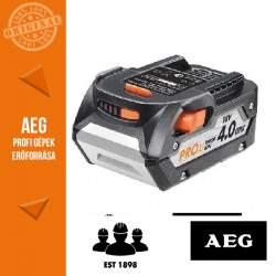 AEG 18V 4,0Ah Li-Ion akkumulátor