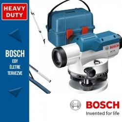 Bosch GOL 32 D Optikai Szintező + BT160 állvány + GR500 mérőléc