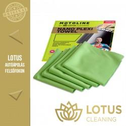 Lotus Motoline Extra finom lágyszövésű törlőkendő készlet, 20 x 20cm, 5db