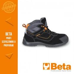 Beta 7218FN action nabuk bőr bokacipő, mérsékelten vízálló kopásálló orrvédő betéttel és gyorskioldással