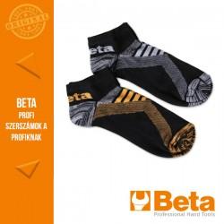 Beta 7431P két pár sneaker zokni szellőző betétekkel, M