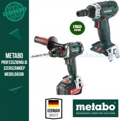 Metabo BS 18 LTX Impuls fúró-csavarozó + SSW 18 LTX 200 Alapgép