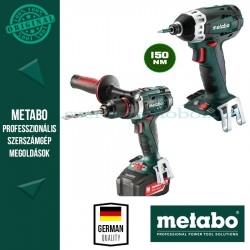 Metabo BS 18 LTX Impuls fúró-csavarozó + SSD 18 LTX 200 Alapgép