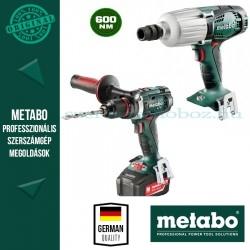 Metabo BS 18 LTX Impuls fúró-csavarozó + SSW 18 LTX 600 Alapgép