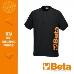 """Beta 7549N """"work"""" póló, fekete"""