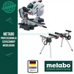 Metabo KGS 315 Plus Gérvágófűrész + KSU 251 Állvány