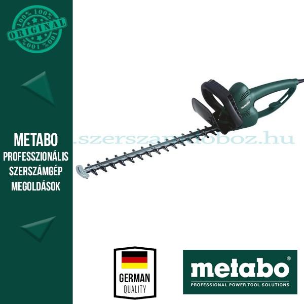 Metabo HS 55 Elektromos sövényvágó friss hajtásokhoz