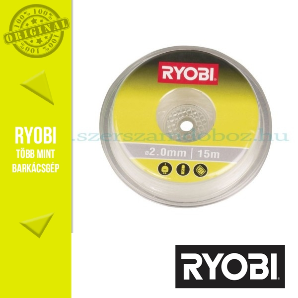 Ryobi RAC102 15m x 2,0mm fehér damil