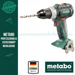 Metabo BS 18 LT BL Akkus fúró-csavarbehajtó Alapgép