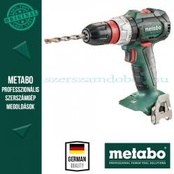 Metabo BS 18 LT BL Q Akkus fúró-csavarbehajtó Alapgép
