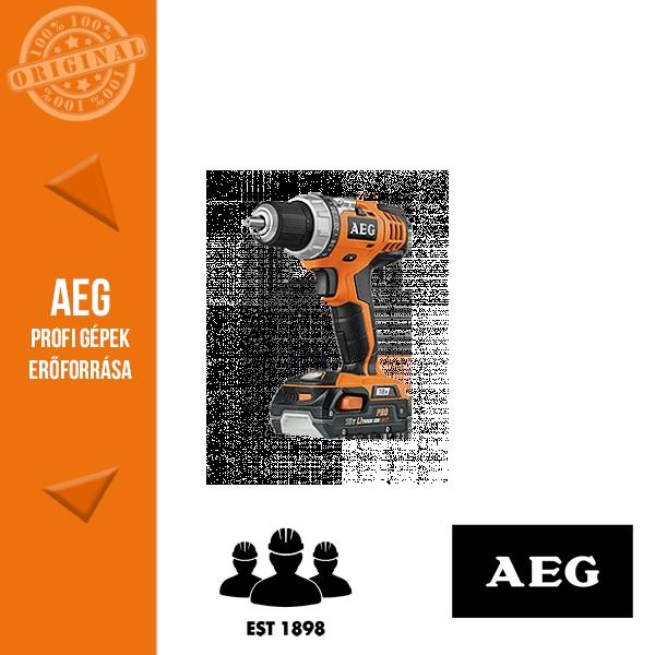 AEG BS 18C LI-302C Akkus fúró-csavarbehajtó
