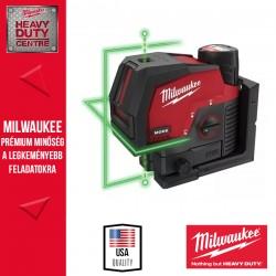 Milwaukee M12 CLLP-301C Zöld keresztvonal-és pontlézer