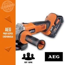 AEG BEWS18-125XLI-302C Akkus sarokcsiszoló