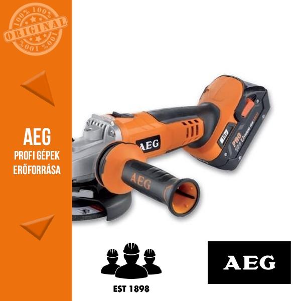 AEG BEWS18-115XLI-302C Akkus sarokcsiszoló