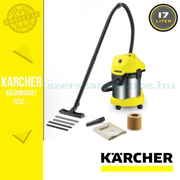 Karcher WD 3 P Premium Nedves-száraz porszívó