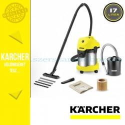 Karcher WD 3 Premium Fireplace Kit Nedves-száraz porszívó, kandalló készlettel