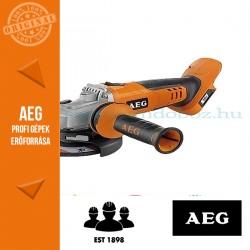 AEG BEWS 18-125X-0 Akkus sarokcsiszoló