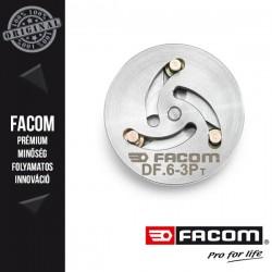 FACOM Adapter pneumatikus féknyereg visszanyomóhoz, 3 csapos, 15-30mm
