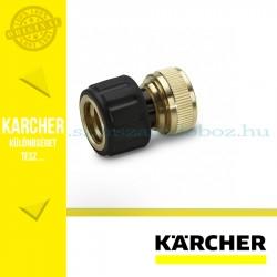 "Karcher Réz tömlőcsatlakozó 1/2"", 5/8"", vízstoppos"