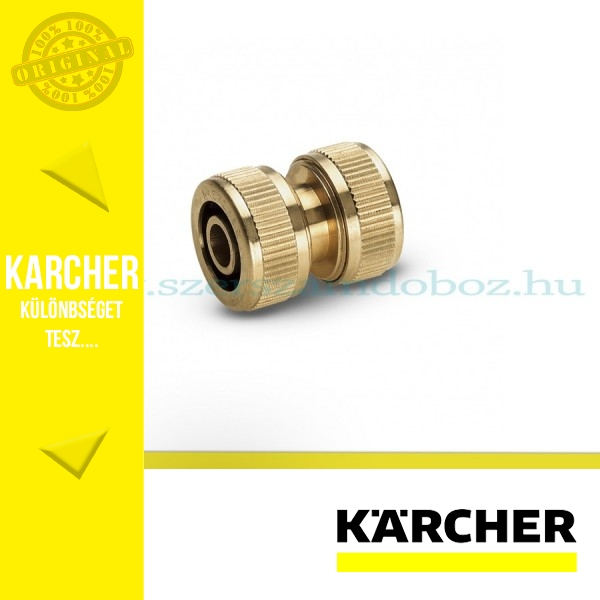 """Karcher Réz tömlőjavító G 1/2"""" - G 5/8"""""""