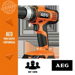 AEG BSB 18 G NiCd* Akkus fúró-ütvefúró-csavarbehajtó
