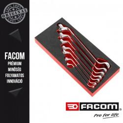FACOM Hajlított csillagkulcs készlet habszivacs modulban, 7db-os