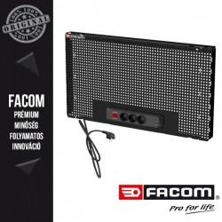 FACOM RWS Szerszámtartó panel csatlakozó aljzattal, fekete