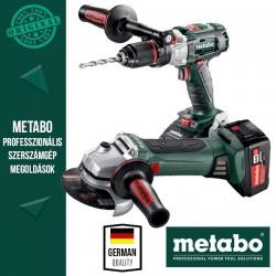 Metabo Power Pack 18V Akkus szett (ütvefúró-csavarbehajtó + sarokcsiszoló)