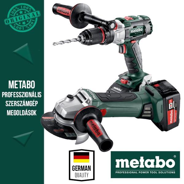 Metabo Power Pack 18V Akkus szett (ütvefúró-csavarbehajtó LTX + sarokcsiszoló)