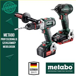 Metabo Power Pack 18V Akkus szett (ütvefúró-csavarbehajtó+ütvecsavarozó)