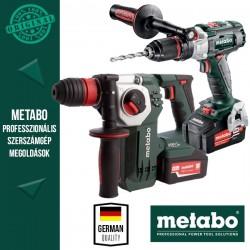 Metabo Power Pack 18V Akkus szett (ütvefúró-csavarbehajtó+kombikalapács)
