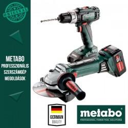Metabo Power Pack 18V Akkus szett (ütvefúró-csavarbehajtó L+sarokcsiszoló)