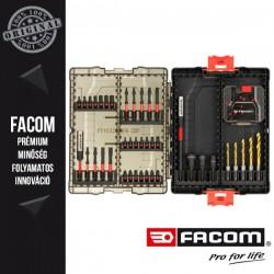 FACOM Fúró- és csavarozó készlet, 50 db-os