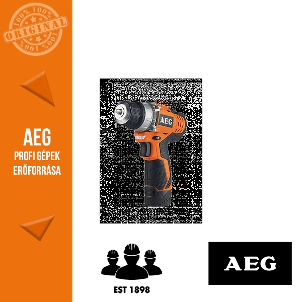 AEG BS 12C2 LI-151B Akkus fúró-csavarbehajtó