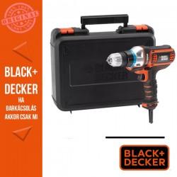 BLACK & DECKER 300W Hálózati MultieVo multi-szerszám fúró/csavarozó fejjel
