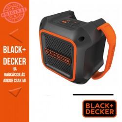 """BLACK & DECKER BDCSP18N-XJ 18V Li-Ion Bluetooth 4"""" kihangosító akku és töltő nélkül"""